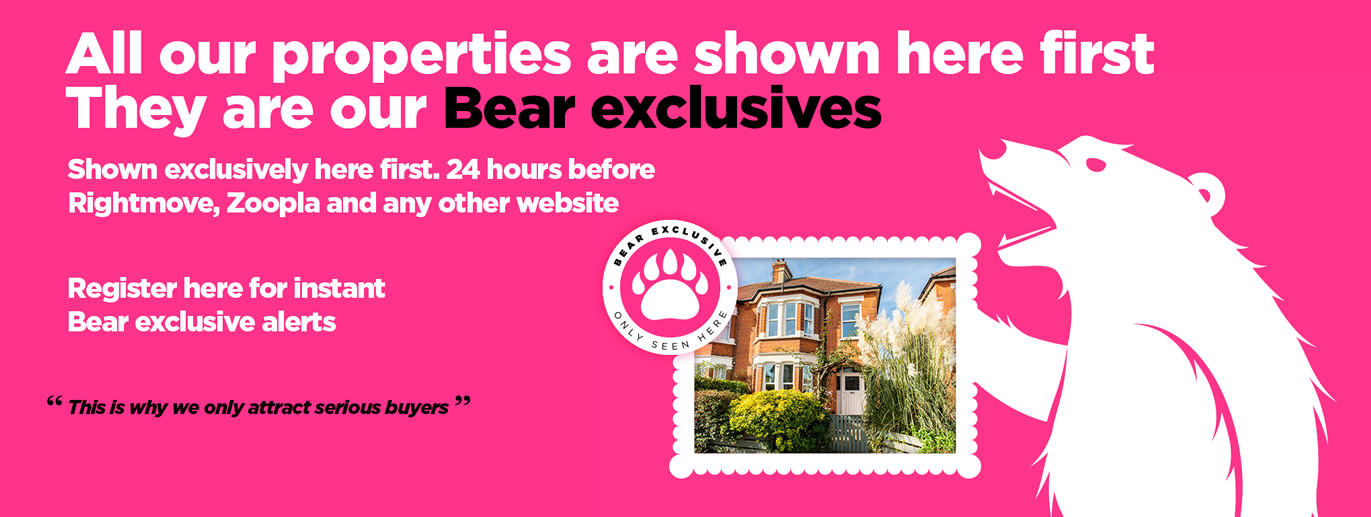 Register for Bear exclusives