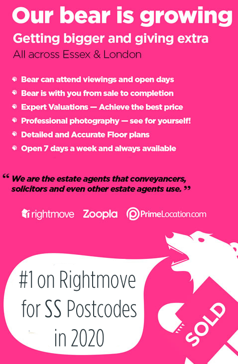Our Bear is Growing - Expert Valuations - More choise Estate Agents