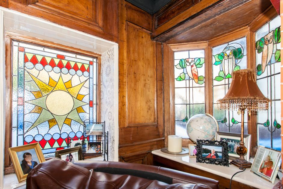Picture of Edwardian stained glass windows